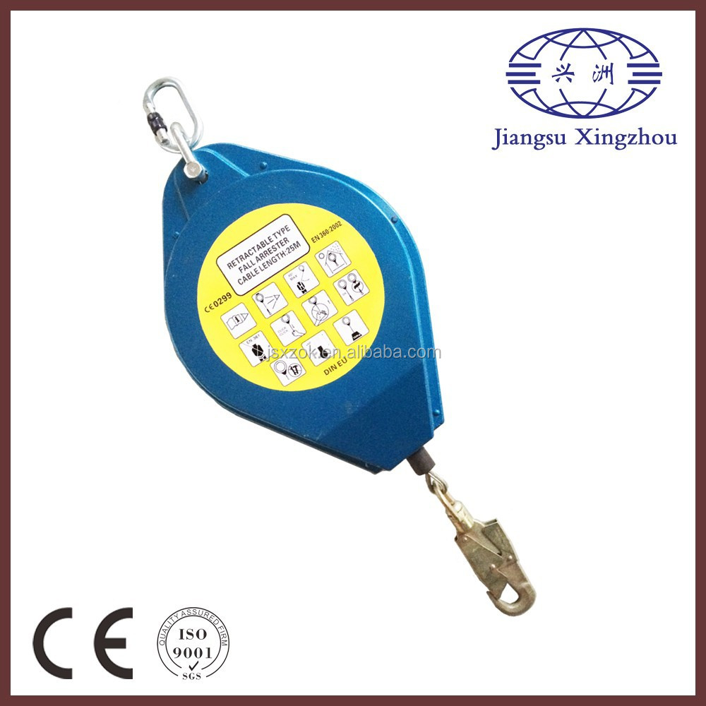 PPE Safety Retractable Fall Arrester
