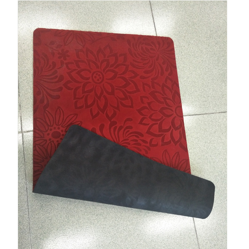 Custom rubber door mat for indoor, room, hotel