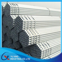 Building pre galvanized round steel pipe made in China mainland