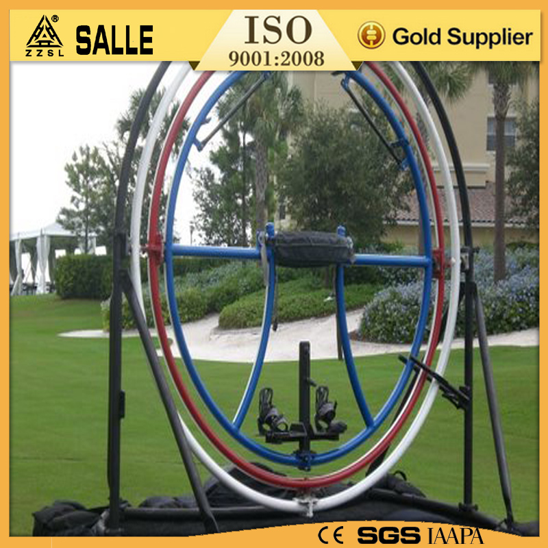 2016 new family rides outdoor 1-6 seats human gyroscope for sale human gyroscope space ball for sale