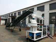 Chengda 90kw 1.5T/H vertical ring die wood pellet mill