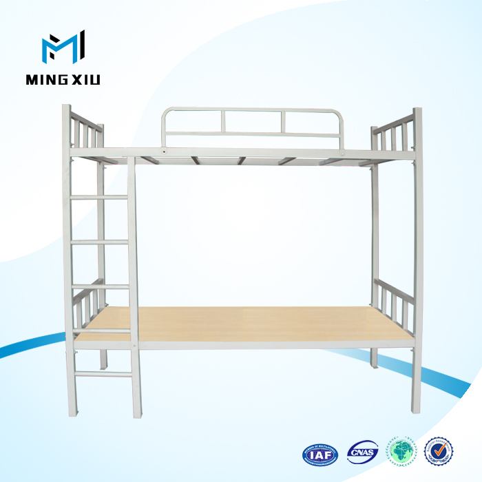 Luoyang mingxiu school furniture adult bunk beds cheap / metal double bunk bed
