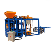 semi automatic QT4-24 pdf compressed manual soil earth brick block machine design