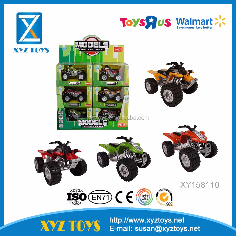 Die Cast metal model car Alloy Small ATV toys for kids