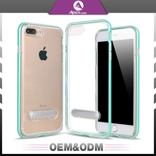 OEM & ODM Ultra Thin Clear Transparent Soft Phone Case For iphone7, For iphone 7 Flexible TPU Back Case Cover