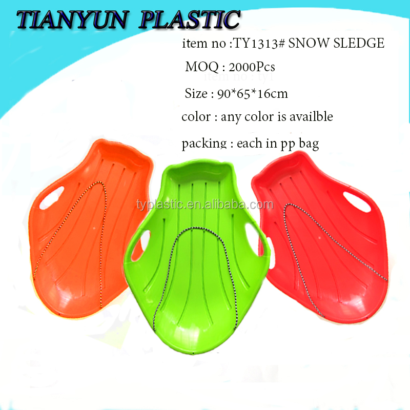 fashional plastic snow sledge scooters snowmobile for kids winter sports