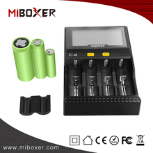 18650 Lithium Rechargeable Batteries Charger 3.7V (4 channels) and Li-ion 18650 18500 14500 Battery Charger