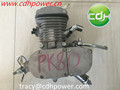 Chromed Gas Powered Bicycle Engine Kit, Moped Bicycle Engine Kit 80cc, Bike Engine Kit
