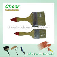 wooden handle paint brush/paint brush handle,acrylic paint brushes