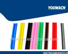 Car wiper blade rubber
