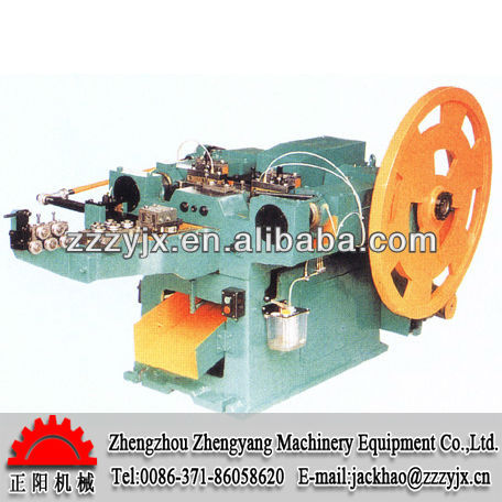 ZY automatic nail making machine price from waste rebar