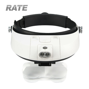 MG81001-G Multiple Power Led Head Light Magnifier for Surgical