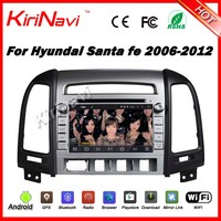 "Kirinavi WC-HS7024 android 5.1 7"" 2 din car pc dvd player with bluetooth for hyundai santa fe 2006 - 2012 android navigation gps"