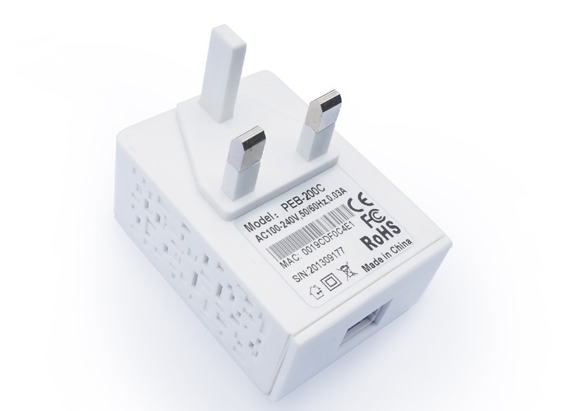 up to 200mbps power line adapter in wreless network plc modem