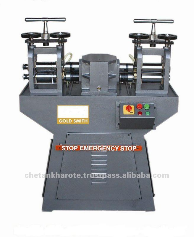Bangle Ring Wire Sheet Rolling Machine