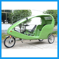pedal-electric cycles with roof