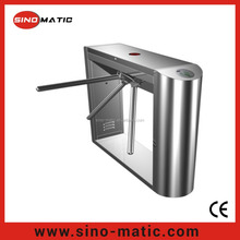 Access control system security automatic checkpoint rolling turnstile gate