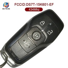 China Professional Remote 4 Button Car Keys 434MHZ DS7T-15K601-EF For Ford AK018054