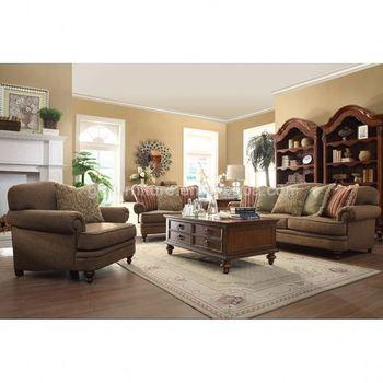 3 Seater Wooden Sofa Set Designs