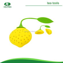 Low price Strawberry shape silicone tea bag strainer/tea bag infuser