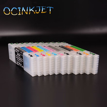 Ocinkjet T6531-T653B Empty Refillable Ink Cartridge With Chip For Epson Stylus PRO 4900