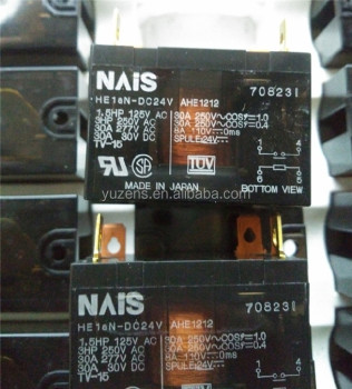Power Relays, Over 2 Amps HE1AN-DC24V RELAY GEN PURPOSE SPST 30A 24V