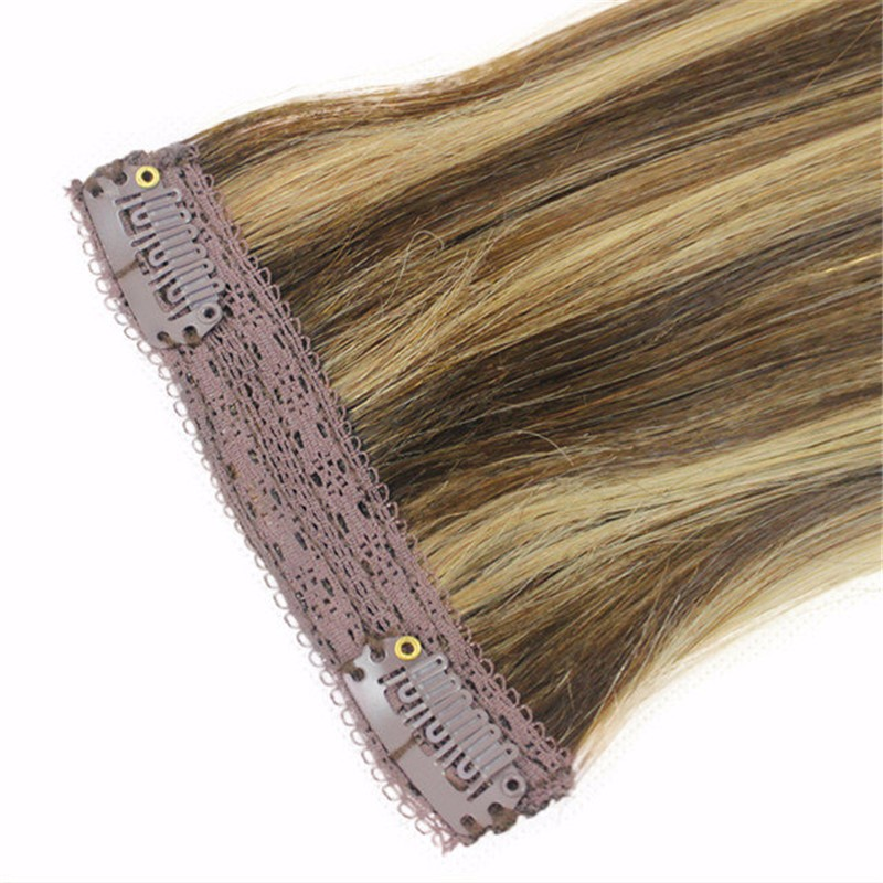 Wholesale aliexpress hair extension Grey Color Cheap 100% unprocessed Brazilian virgin remy Human clip in hair Extension 7a