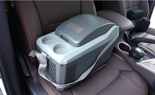Car Thermoelectric Cooler And Warmer Electric Mini Car Fridge