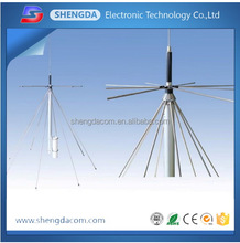 25-3000mhz outdoor wide band antenna stainless steel omni base station antenna discone antenna D130
