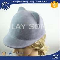 Cat ear multi color women winter hats fashion