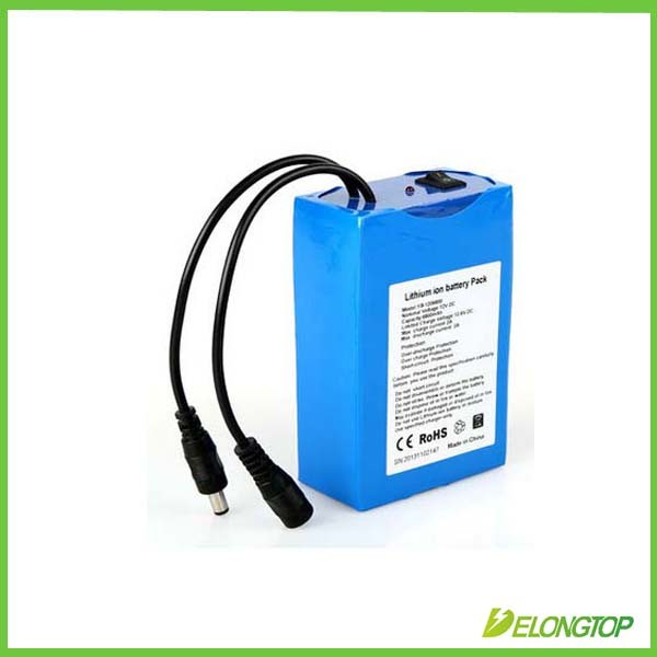 Factory custom 12v 5ah 7ah 9ah 10ah 12ah 15ah deep cycle lithium ion battery with battery charger