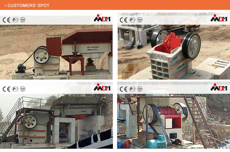 Shanghai DongMeng stone hydraulic jaw crusher price for sale with CE ISO GOST certification