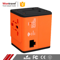 Non-grounding 5V Universal Wifi Power Adaptor AC DC Switzerland France Italian Plug Adapter