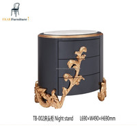 Alibaba Classic Luxury Accent Wooden Night Table