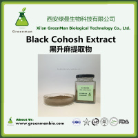 High Quality Black Cohosh Extract powder/Black Cohosh powder/Black Cohosh p.e.