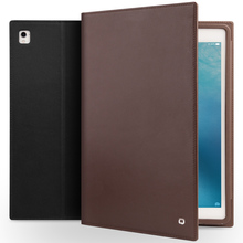 2018 QIALINO High Quality Vintage Leather Case For iPad Pro 9.7 inch Full Protection Case