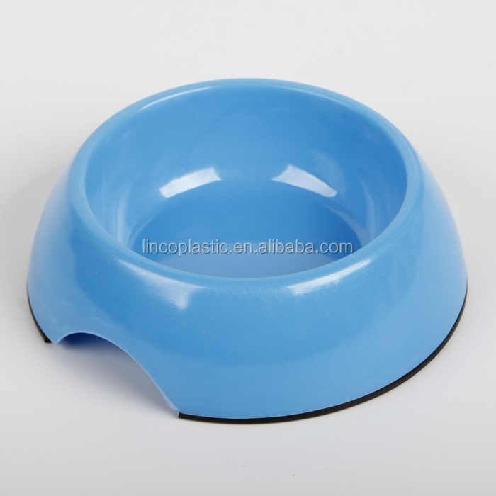 Stainless steel plastic dog bowl