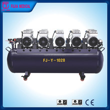 One For Ten Noiseless/Slient Dental Oilless Air Compressors/Air Compressing Machine