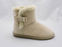 Lovely women warm winter snow boots