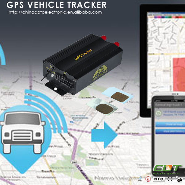 tk103a+ free software quad band dual sim card vehicle micro gsm gps tracker