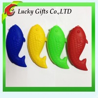 Promotional Zipper Coin Purse Silicone Fish Purse