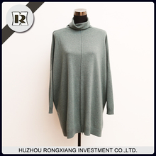 Latest sweater designs fashion long pullover sweater for woman
