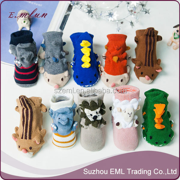 China Manufacturer Make Your Own Custom 3 d lovely children 0-3 years old men and women's newborn baby booties EML-12-W2010