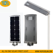20W Integrated Outdoor Wall Street Lamp IP65 Waterproof Solar LED Flood Light