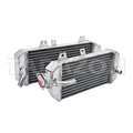 Hand welding aluminium motorcycle radiator for KX 250F