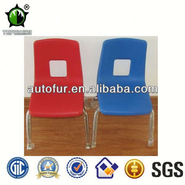 Comfortable personalised plastic kindergarten children chairs
