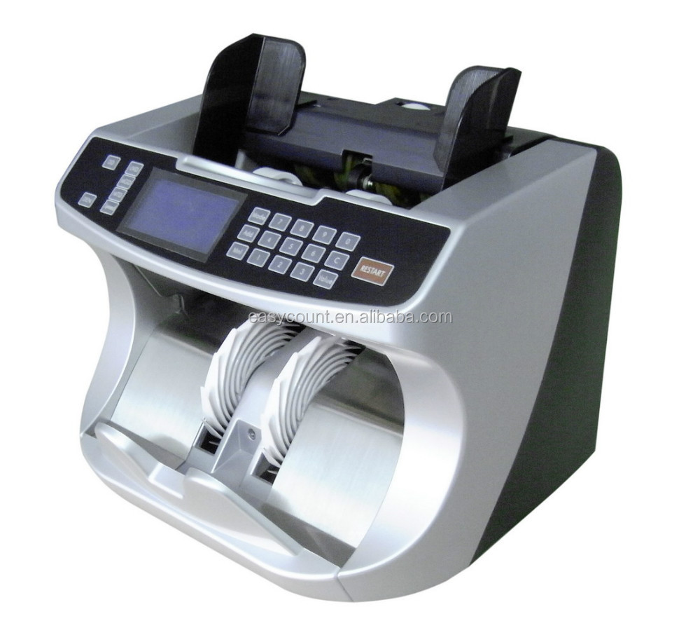 EC980 Top quality counterfeit money detector value cash currency bill banknote counter machine