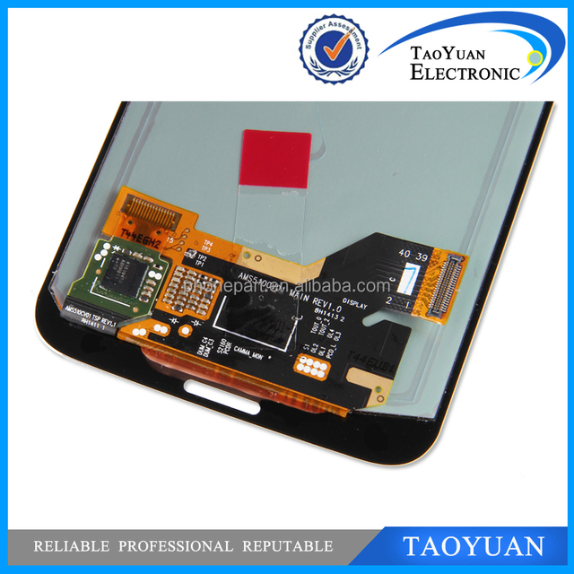 Mobile phone spare parts for samsung galaxy s5 lcd digitizer assembly
