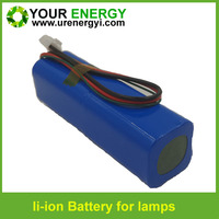 rechargeable 18650 li-ion 6v 4.5ah battery for emergency system 6.4v lifepo4 battery