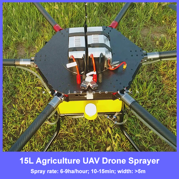 uav pesticide spray drone , crop sprayer uav with 15 liter pesticide tank , rc agricultural uav